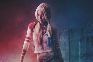 Cosplay Harely Quinn 4k