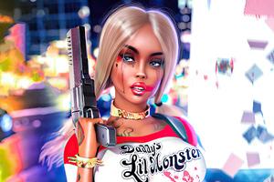 Cosplay Harley Quinn 2020