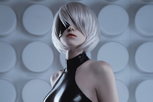 Cosplay Nier Automata 4k Wallpaper