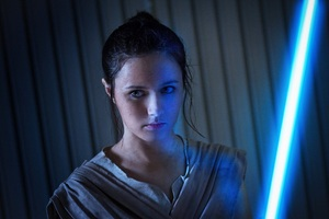 Cosplay Rey Star Wars Wallpaper
