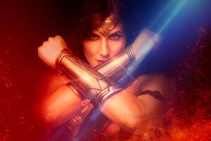 Cosplay Wonder Woman 4k