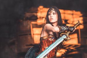 Cosplay Wonder Woman New