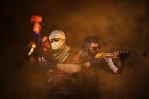 Counter Strike Game Art 4k