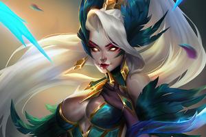Coven Zyra League Of Legends Fan Art 4k