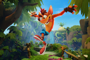 Crash Bandicoot 4 Its About Time Ps5 Wallpaper