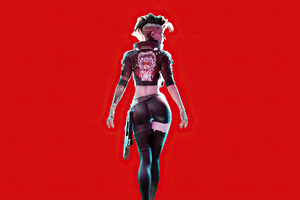 Cristian Acuna Cyber Art Girl 4k