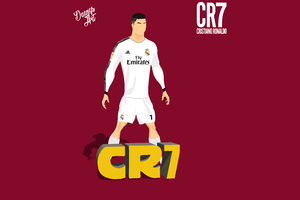 Cristiano Ronaldo Vector Illustration 8k