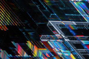 Crosschain Shapes 4k Wallpaper