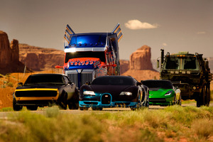 Crosshairs Optimus Prime Vitesse Bumblebee Hound Wallpaper