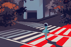 Crossing Path Wallpaper