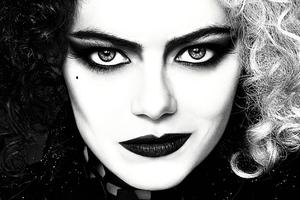 Cruella Emma Stone Poster 4k