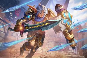 Crusader Qerat World Of Warcraft 5k Wallpaper