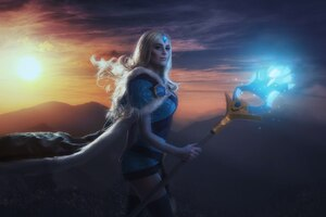 Crystal Maiden DotA 2 Cosplay