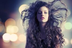 Curly Hair Girl