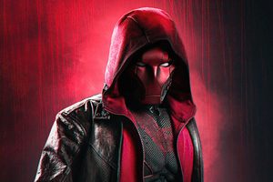Curran Red Hood 5k Wallpaper