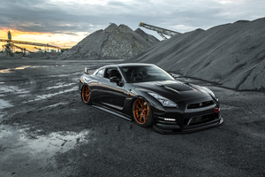 Custom Nissan Gtr 5k 2019 Wallpaper