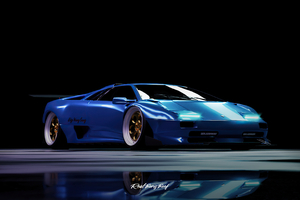 Custom Widebody Lamborghini Diablo 4k 2020 Wallpaper