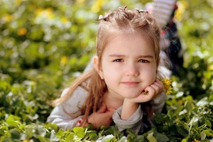 Cute Kid Girl Toddler Wallpaper