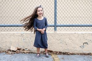 Cute Little Girl Smiling Wallpaper