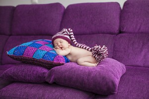 Cute Sleeping Baby Wallpaper