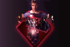 Cw Dc 2019 Heroes Wallpaper