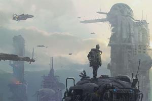 Cybeprunk Destruction City 4k
