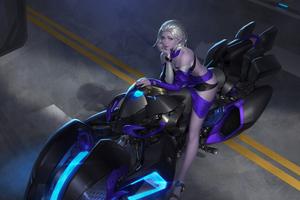 Cyber Biker Girl 2020