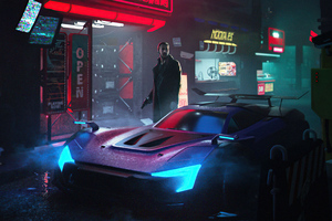 Cyber City Blade Runner 5k Wallpaper