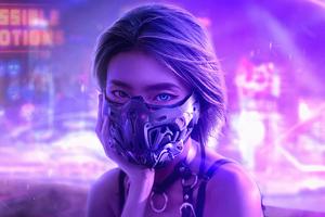 Cyber Eyes 4k Wallpaper