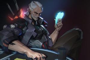 Cyber Geralt 2077 Wallpaper