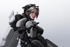 Cyber Kitten Girl 4k