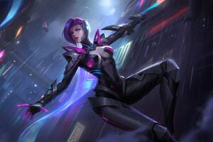 Cyber Natalia Wallpaper