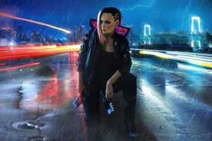 Cyber Punk 2077 Wallpaper