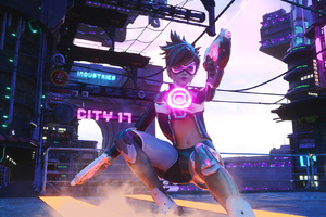 Cyber Tracer Overwatch Wallpaper