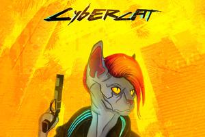 Cybercat X Cyberpunk 2077