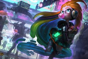 CyberPop Zoe League Of Legends Wallpaper