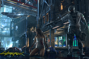 Cyberpunk 2077 2017 Game Wallpaper