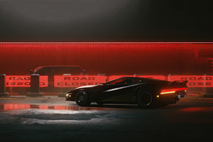 Cyberpunk 2077 4k Car Wallpaper