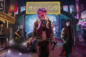 Cyberpunk 2077 5k Game