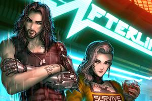 Cyberpunk 2077 Afterlife Royals 4k Wallpaper