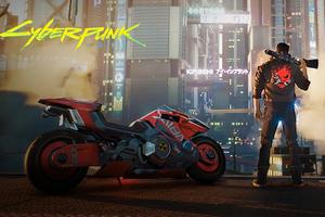 Cyberpunk 2077 Bike Game