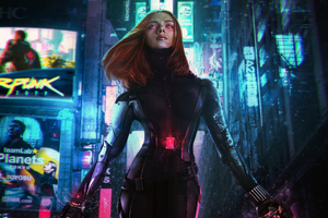 Cyberpunk 2077 Black Widow