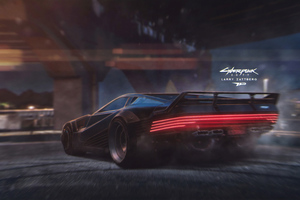 Cyberpunk 2077 Car 4k Wallpaper