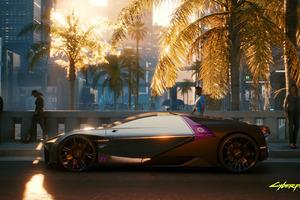 Cyberpunk 2077 Cars Futuristic 4k