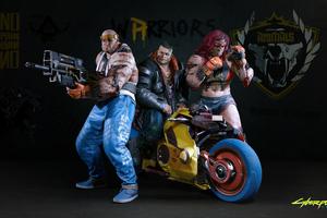 Cyberpunk 2077 Characters 4k
