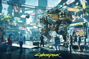 Cyberpunk 2077 City Game Wallpaper