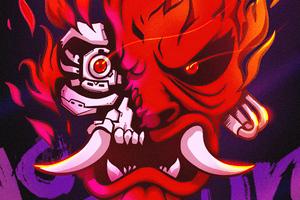 Cyberpunk 2077 Devil 4k Wallpaper