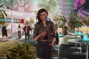 Cyberpunk 2077 Fanart 4k Wallpaper