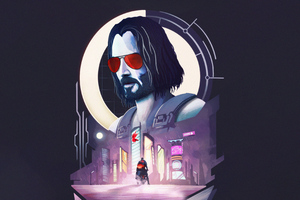 Cyberpunk 2077 Ft Keanu Reeves Minimal 4k Wallpaper