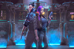 Cyberpunk 2077 Game Cosplay Wallpaper